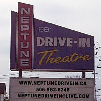 Weekend Drive In Movie theater