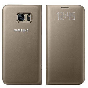 Samsung Galaxy S8 Plus LED View Cover Case (GOLD)
