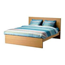 Double Bed Frame (IKEA Malm)