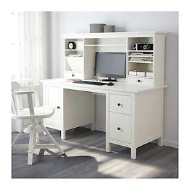 Study desk with shelf