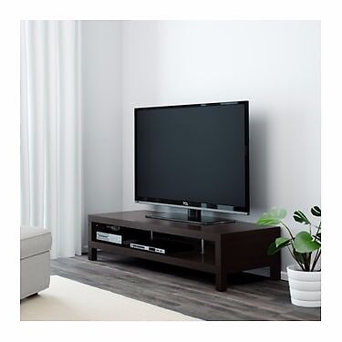 TV stand table 65 inch Blackin Morpeth, NorthumberlandGumtree - Black tv stand/table up to 65/70 inch tvs. s Width 149 cm Depth 55 cm Height 35 cm Max. load 65 kg used only for 1 month untill our tv was mounted on the wall very sturdy strong table with central suppots. Any questions please contact