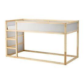 IKEA KURA Reversible bed White/pine.