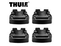 Thule 4007 fitting Kit (Audi A4 Avant Volvo XC90 flush / integrated roof rails)
