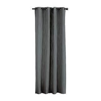 Gummerson Cotton Beach Eyelet Curtain Silver 220 - 270 x 223 cm
