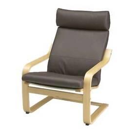 Ikea posing chair