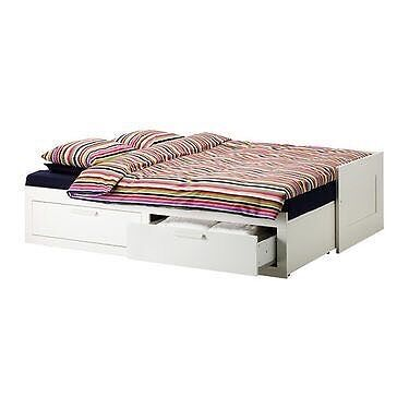 single or double fold out bed