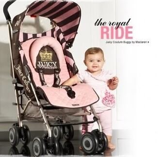JUICY COUTURE PRINCESS Maclaren pram stroller, ex display Riverwood Canterbury Area Preview