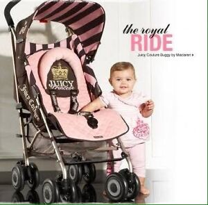 Limited Edition Juicy Couture McLaren Stroller Coburg North Moreland Area Preview