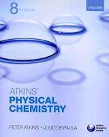 Atkins' Physical Chemistry, 8th Ed. + Solutions Manual