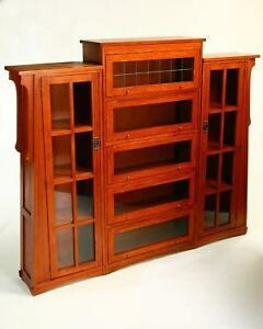 Oak Lawyers Bookcases