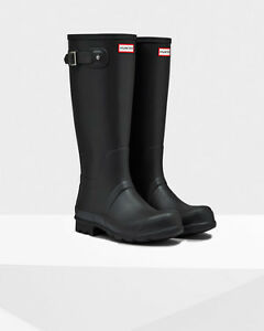 Trade tall hunter boots for the short hunter boots