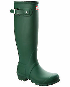 green hunter rainboots-excellent condition