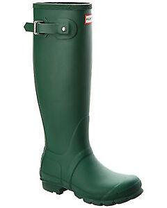green hunter rainboots-excellent condition