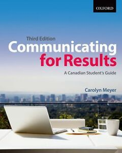 Communicating for Results 3rd Edition Ebook