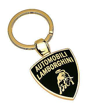 Genuine+Lamborghini+Shield++Keyring+%7E+Fire+Enamel