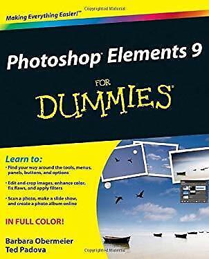 Photoshop Elements 9 for Dummies Paperback Barbara Obermeier