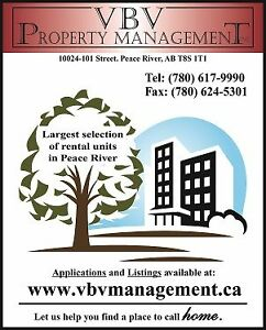 VBV Property Management Largest Selection of Peace River Rentals
