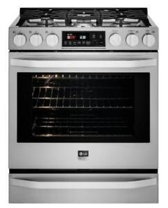 https://aniks.ca/ LG LSSG3016ST STUDIO Gas Slide-in Range Boxing Week Sale Premium Kitchen appliances