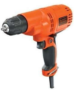 BLACK and DECKER QUALITY HEAVY DUTY 5 AMP VARIABLE SPEED DRILL - USA BIG BOX STORE SURPLUS PRODUCT