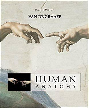 Human Anatomy by Van De Graaff-ExLibrary, used for sale  Shipping to Canada