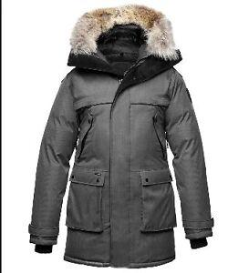 Nobis Yatesy - Steel Grey - Thick Fur - Authentic With Receipt