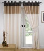 Striped Eyelet Curtains
