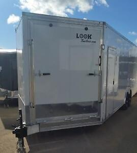 New 2017 Pace ALL Aluminum Enclosed Trailer 8.5 Wide All Sizes