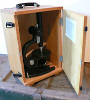 Vintage STUDENT MICROSCOPE made in USSR