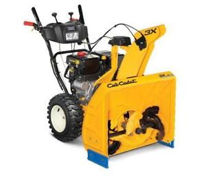 Cub Cadet Non-Current Snowblower Clearance - 3X28HD - only $1499.00