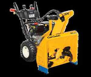Cub Cadet 3X HD snowblowers