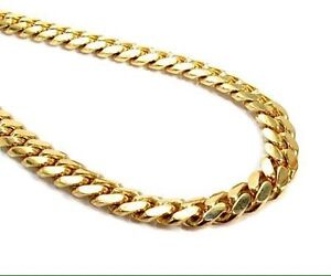 Gold chain Miami Cuban link Peterborough Peterborough Area image 2
