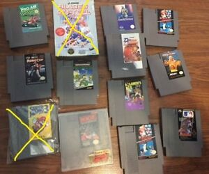 selling some nes games