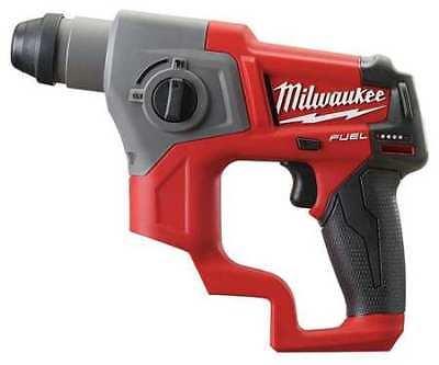 Milwaukee 2416-20 M12 Fuel 12v 58 Cordless Sds-plus Rotary Hammer Drill