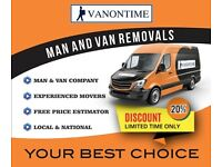 Man and van hire fr 15 hr. Safe hands and cheap. Paying too much? Call us first for quality& price