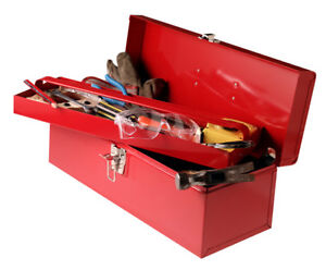 Two red Tool-Boxes and Backpack with Knee-brace LOST Hwy.49 Kawartha Lakes Peterborough Area image 1