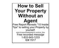 How to sell your property without an agent?A VENDRE PAR PROPRIET
