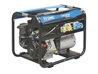 Large Used SDMO Technic 6500 E AVO Petrol Generator