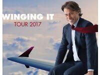 John Bishop @ Nottingham Arena Sat 14 October 2017 Tickets x 2