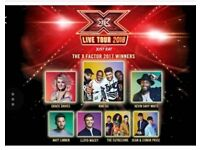 X factor live 2018 tickets Manchester 20th Feb x 2 tickets