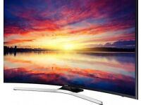 Samsung 49 inch (UE49KU6100) Curved Ultra HD HDR 4K Freeview HD Smart LED TV
