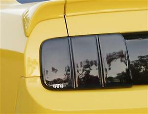 GT Stylin - Taillight Covers - Blackout - 2005-2009 Ford Mustang