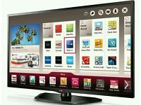 "LG 42"" LED smart wi-fi 3D tv builtin HD freeview full HD 1080p."