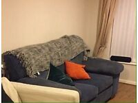 sofa and footrest
