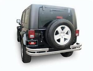 Jeep - Rear Bumper - 07-17 Wrangler 2D & 4D Bumper