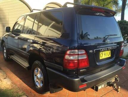 2003 Toyota Landcruiser GXL Wagon 8st 5dr Auto 5sp 4x4 4.7i  V8, Prestons Liverpool Area Preview