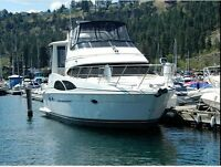 Excellent condition power yacht located in kelowna