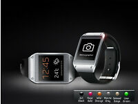 Bluetooth Smart Watch Samsung Galaxy Gear black For all adroid phones.Brand New