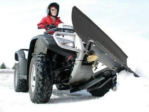 Atv snow plow hook up