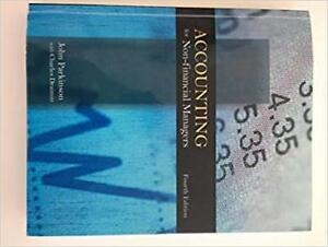 Selling Accounting for Non-Financial Managers Fourth Edition