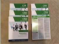 CFA Level 1 Kaplan Schweser Books Study Materials (2018 Version)